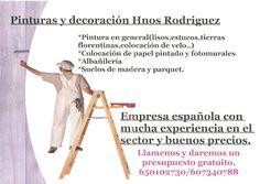 Gente de Villaverde: Pinturas y Decoración Hnos. Rodríguez