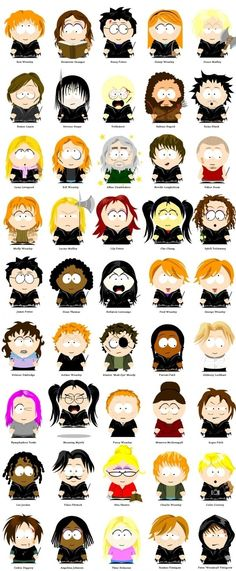 When Harry Potter meets South Park. So funny! I cant even pick a favorite they are all so good!