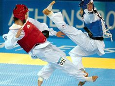 My daughter does tae kwon do. She is the reason I am interested in South Korea.
