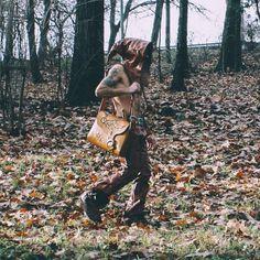 """FL"" Steampunk Timewaves Collection / laptop leather bag #limbovicidesign #handmade #madeinromania #leatherbags  #steampunk #timewaves"