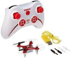 ﹩21.93. Syma X12 Mini Nano 6-Axis Gyro 4 Channel RC Quadcopter RED Electronics Features    Manufacturer Part Number - X12S-R, - No Warranty, Color - X12 Nano Red