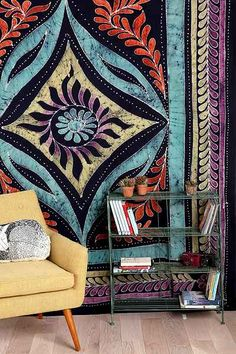 Sun Medallion Batik Tapestry - Urban Outfitters