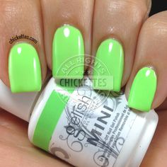 Chickettes.com Gelish Lime All the Time from the Gelish Colors of Paradise Collection