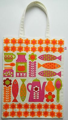 lovely tote bag by Alice Apple
