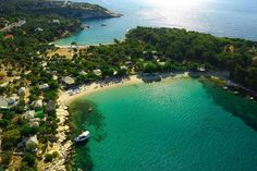 Greek Islands - Thassos Island, Macedonia Greece also known as the emerald of the north