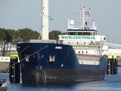26 juni 2017 is brand uitgebroken in de machinekamer Nederlands zeeschip 'Anna'  op de Noordzee voor Hoek van Holland in de positie 52.031° ...