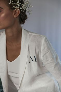Fall in love with the Alys Linen Short Robe. Cut from 100% Linen which will get softer with every wear. Linen is breathable and has an open weave texture. Features a roll collar, waist tie with a secondary internal tie to keep your robe in place. There are hidden side pockets for your phone so you'll always be ready to capture moments on the big day. Bridal Robes, Open Weave, Blush Pink, Campaign, Pockets, Tie, Texture, Phone, Fall