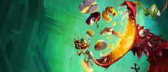 <b>Rayman</b> Legends Walkthrough | <b>Rayman</b> art | <b>Rayman</b> legends ...