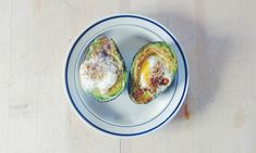 Baked Egg in Avocado Recipe. Healthy, hearty breakfast exclusively on Mom.me