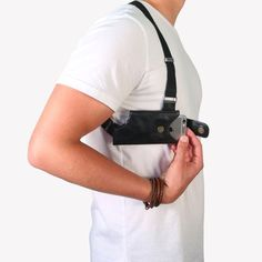Black Holster right side view Image – Holster Collection – LD West – The Original LD West Holster