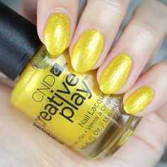Give nails the Midas Touch with Foiled Again from the CND Creative Play Celebration Collection! (See collection swatches on SwatchAndLearn.com.)