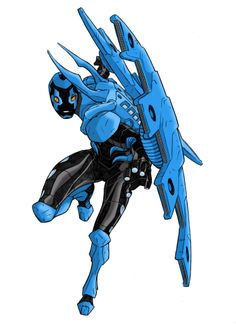 Hepburn's Blue Beetle Colour by Drawgasm-Designs.deviantart.com