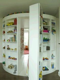 Secret playroom? AWESOME!