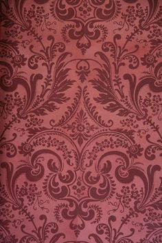 marsala Pantone 2015 colour of the year Pantone 2015, Pantone Colors 2015, Motifs Roses, Damask Wallpaper, Color Of The Year, Shades Of Red, Arabesque, Belle Epoque, Dusty Rose