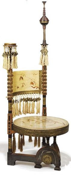 CARLO BUGATTI (1856-1940) | Fine Art Auction | Lot Details | Christie's - Chair Blog
