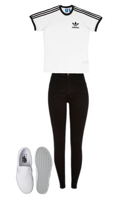 """""""Untitled #71"""" by brittney348 on Polyvore featuring Vans and adidas"""
