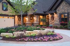 Plan #091S-0001 - traditional - landscape - st louis - House Plans and More