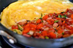 Pizza de omelete - Receitas - Receitas GNT