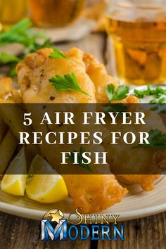 "Check out our post "" 5 Air Fryer Recipes for Fish"" to learn how to make recipes like fish in air fryer with no breading, beer batter fish air fryer, and cajun air fryer fish. Air Fryer Cod Recipe, Air Fry Fish Recipe, Air Fryer Tilapia Recipe, Breaded Fish Recipe, Air Fryer Oven Recipes, Air Fryer Dinner Recipes, Fresh Fish Recipes, Cod Fish Recipes, Halibut Recipes"