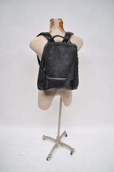 vintage leather backpack vintage boho leather DISTRESSED BACKPACK tote rucksack back pack ruck sack hobo