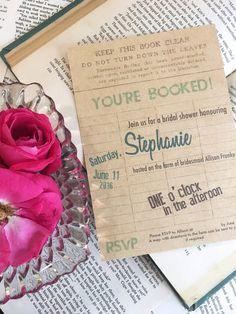 Book Themed Bridal Shower — Make it Franke