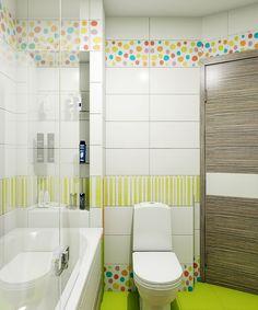 Bathroom Colors, Small Bathroom, Toilet Design, Tiny House On Wheels, Kids Room, Bathtub, House Design, School, Furniture