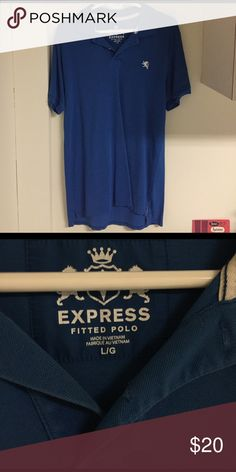 Express Fitted Polo New condition Shirts Polos