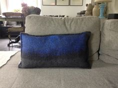 Felt Cushion, Felt Pillow, Objects, Cushions, Curtains, Throw Pillows, Bed, Crafts, Home