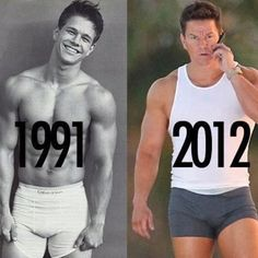 Mark Wahlburg is 41 today.... Lookin good