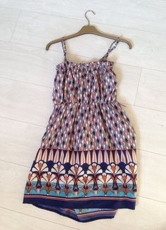 Buy here at #vinteduk http://www.vinted.co.uk/womens-clothing/casual-dresses/4407151-aztec-print-dress