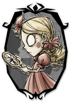 Don't Starve Together - Wendy Guest of Honor Skin Art