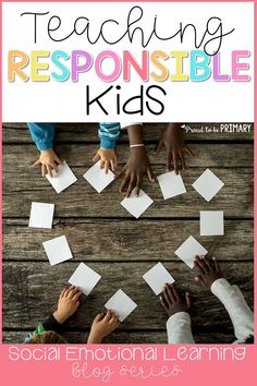 Ideas for teaching responsibility in the classroom. Effective social responsibility strategies to teach kids to be responsible, make good choices and set goals. Teaching Respect, Teaching Social Skills, Social Emotional Learning, Teaching Strategies, Teaching Kids, Responsibility Lessons, Kindness Activities, Emotions Activities, Zoo Activities