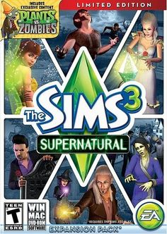 Sims 3 Supernatural things-i-want