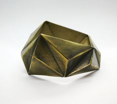 Brass 3d Printed Jewellery Bangle - Melbourne 3d Printed Jewelry, Melbourne, 3d Printing, Bangles, Brass, Jewellery, Trending Outfits, Unique Jewelry, Handmade Gifts