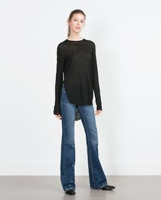 ZARA - WOMAN - TOP WITH SLITS