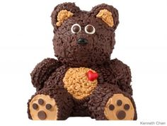 Your kid's cuddly companion makes an equally cute cake design.