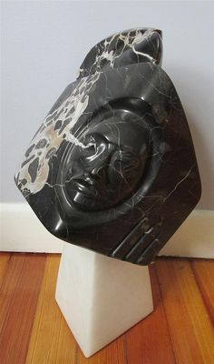 Modern Inuit Soapstone sculpture - by Link Auction Galleries