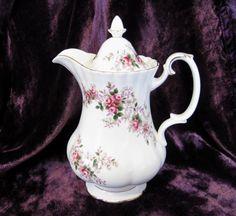 Vintage Royal Albert Lavender Rose Hot Water by TheWhistlingMan