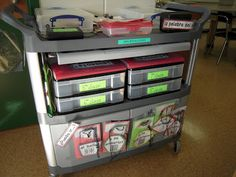 Cart tour from a traveling Spanish teacher - My Adventures on a Cart-Part 2 | ihabloespanglish.blogspot.com