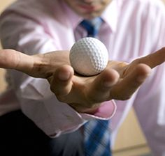 A Trick to Help You Snap Out of It - Natural Cures Use a golf ball to stimulate your adrenal glands