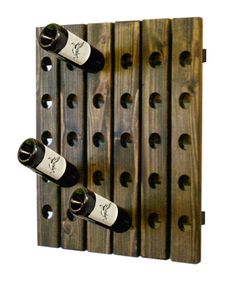 Man Cave Basement Bar Wine Rack by UptownArtisan on Etsy, $99.00