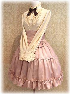 ゴシックロリータスタイルのワンピースを着てみたくないですか?You may want to try the gothic style of lolita 's dress. http://www.jpzentai.com/japan-product-4604.html