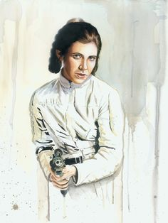 brian rood art the force awaken   Always Star Wars, Beautiful watercolor portraits by Brian Rood