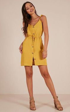 Showpo Stormy Weather dress in mustard - 10 (M) Casual Dresses Source by Dresses Trendy Dresses, Casual Dresses, Short Dresses, Casual Outfits, Fashion Outfits, Summer Dresses, Color Combinations For Clothes, Vintage Street Fashion, Senior Prom Dresses