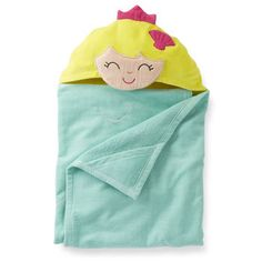 Mermaid Hooded Towel For Kids