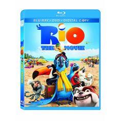 Amazon.com: Rio (Blu-ray/ DVD Combo + Digital Copy): Jesse Eisenberg, Anne Hathaway, Carlos Saldanha: Movies & TV