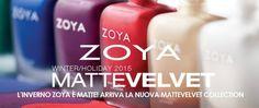 presentazione matte velvet collection zoya: nuove nuances di smalti con finish matte velvet; preview di truccaticoneva, beauty blogger e makeup artist