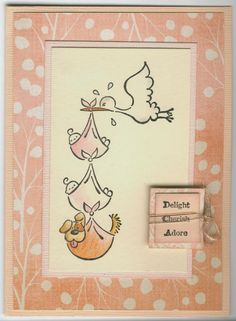 special delivery 3443F: Stamp-it Australia. Card by Susan of Art Attic Studio
