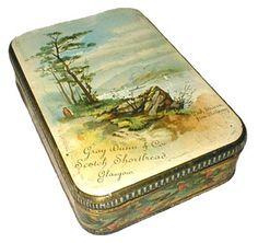 """Gray Dunn & Co Scotch Shortbread, Glascow"" (Loch Striven)   c1890"