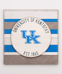 Love this Kentucky Wildcats Vintage-Inspired Wall Sign on #zulily! #zulilyfinds